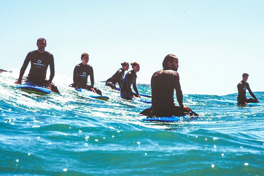 Whole lotta surfing in just a week