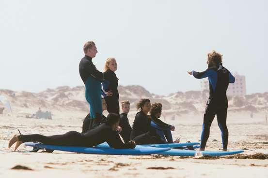 cliff surf camp santa cruz surf lesson